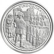 "Silver Coin ""VINDOBONA"" 2010 ""Romans on the Danube"" Series"