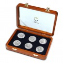 """Romans on the Danube 2012"" Series Six Silver Coins Set"