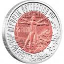 """Silver - Niobium Bullion Coin ROBOTICS 2011 """"Niobium Coins"""" Series, Austria"""