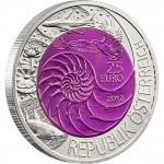 """Silver - Niobium Bullion Coin BIONICS 2012 """"Niobium Coins"""" Series, Austria"""