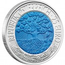 "Silver - Niobium Bullion Coin RENEWABLE ENERGY 2010 ""Niobium Coins"" Series, Austria"