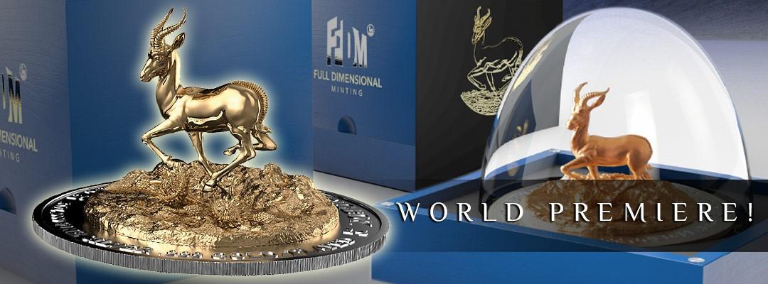 Springbok Silver Coin