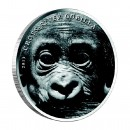 Silver Coin CROSS - RIVER GORILLA 2013, Cameroon - 1 oz
