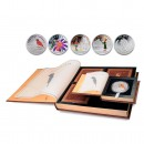 H. C. ANDERSEN 2010 Four Silver Colored Coin Set