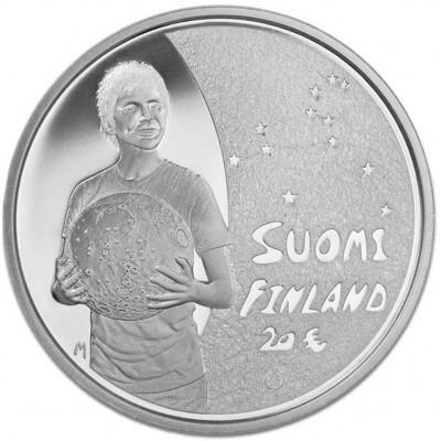Серебряная монета ДЕТИ И ТВОРЧЕСТВО 2010