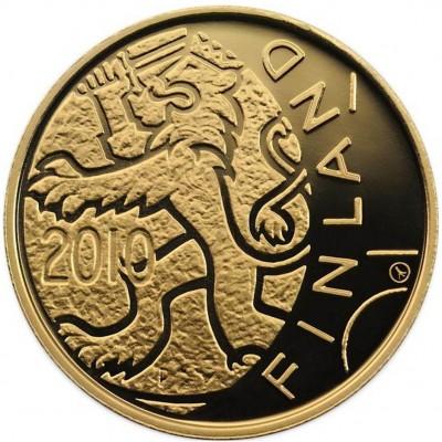 Золотая монета ДЛЯ НЕЗАВИСИМОГО НАРОДА 2010