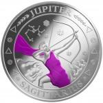"Silver Coin SAGITTARIUS 2011 ""Zodiac Signs - Finland"" Series"