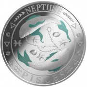 "Silver Coin PISCES 2011 ""Zodiac Signs - Finland"" Series"