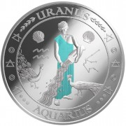 "Silver Coin AQUARIUS 2011 ""Zodiac Signs - Finland"" Series"