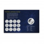 """Zodiac Signs - Finland"" 2011 Series Twelve Silver Coin Set"