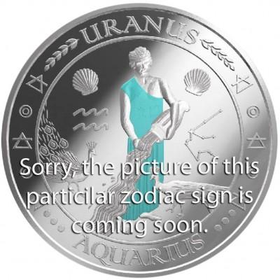 Серебряная монета БЛИЗНЕЦЫ 2011 серии «Знаки Зодиака - Финляндия»