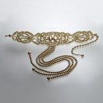 "Necklace ""Tie Kelt Gold Diamond"" 