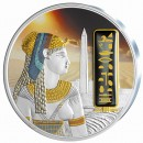 Silver Gilded Coin CLEOPATRA  2012 with Palladium, Fiji - 2 oz