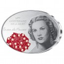 Silver Coin IN MEMORY 30TH ANNIVERSARY GRACE KELLY 2012, Fiji - 1 oz