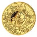 Gold Coin ST. JOHANNES 2011,Liberia - 1/25 oz