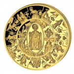 Золотая монета ПЁТР - ТАЛЕР 2009, Либерия -  5 унции