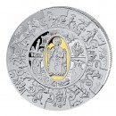 Silver Gilded Coin PETRUS THALER PUZZLE 2009, Liberia - 1 kg