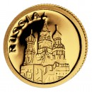 Gold Coin RUSSIA 2008, Liberia - 1/50 oz