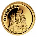 Gold Coin RUSSIA 2008, Liberia - 1/50 oz