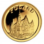 Gold Coin POLAND 2008, Liberia - 1/50 oz