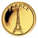 Gold Coin FRANCE 2008, Liberia - 1/50 oz