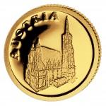 Gold Coin AUSTRIA 2008, Liberia - 1/50 oz
