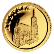Золотая монета АВСТРИЯ 2008, Либерия - 1/50 унции
