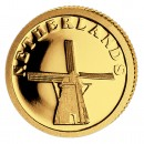 Gold Coin NETHERLANDS 2008, Liberia - 1/50 oz