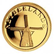 Золотая монета НИДЕРЛАНДЫ 2008, Либерия - 1/50 унции