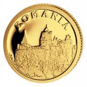 Золотая монета РУМЫНИЯ 2008, Либерия - 1/50 унции