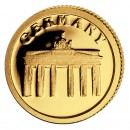 Gold Coin GERMANY 2008, Liberia - 1/50 oz