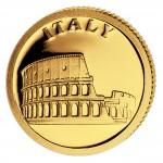Gold Coin ITALY 2008, Liberia - 1/50 oz