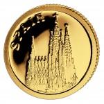Gold Coin SPAIN 2008, Liberia - 1/50 oz