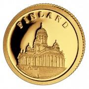Золотая монета ФИНЛЯНДИЯ 2008, Либерия - 1/50 унции