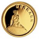 Gold Coin DENMARK 2008, Liberia - 1/50 oz