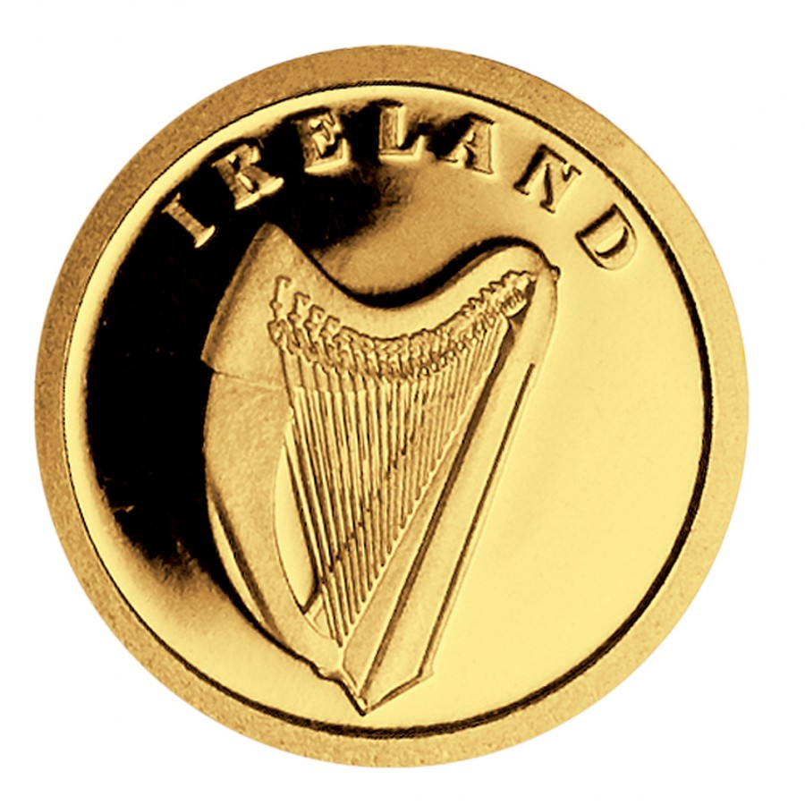 Gold Coin Ireland 2008 Liberia 1 50 Oz