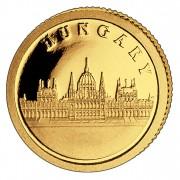 Золотая монета ВЕНГРИЯ 2008, Либерия - 1/50 унции