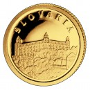 Gold Coin SLOVAKIA 2008, Liberia - 1/50 oz