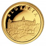 Золотая монета СЛОВАКИЯ 2008, Либерия - 1/50 унции