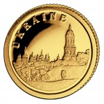 Gold Coin UKRAINE 2008, Liberia - 1/50 oz