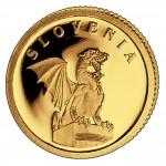 Gold Coin SLOVENIA 2008, Liberia - 1/50 oz