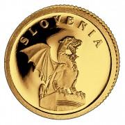 Золотая монета СЛОВЕНИЯ 2008, Либерия - 1/50 унции