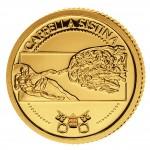 Золотая монета СИКСТИНСКАЯ КАПЕЛЛА 2010, Либерия - 1/50 унции