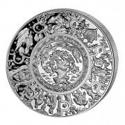 Silver Coin RUSSIAN FAIRY TALES 2009, Liberia - 1 oz