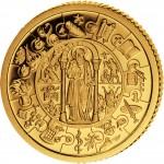 Золотая монета - пазл СВЯТОЙ ПАВЕЛ ТАЛЕР 2008, Либерия - 1 килограмм