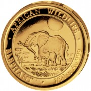 "Gold Coin ELEPHANT 2011 ""African Wildlife"" Series - 1/50 oz"