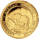 "Gold Coin ELEPHANT 2011 ""African Wildlife"" Series - 1/25 oz"