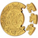 Gold Puzzle Coin ST. PETER THALER 2009, Liberia - 1 kg