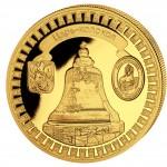 "Gold Coin TSARS-BELL 2011 ""Moscow Kremlin"" Series, Liberia - 5 oz"