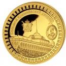 "Gold Coin KREMLIN PALACE 2011 ""Moscow Kremlin"" Series, Liberia - 5 oz"